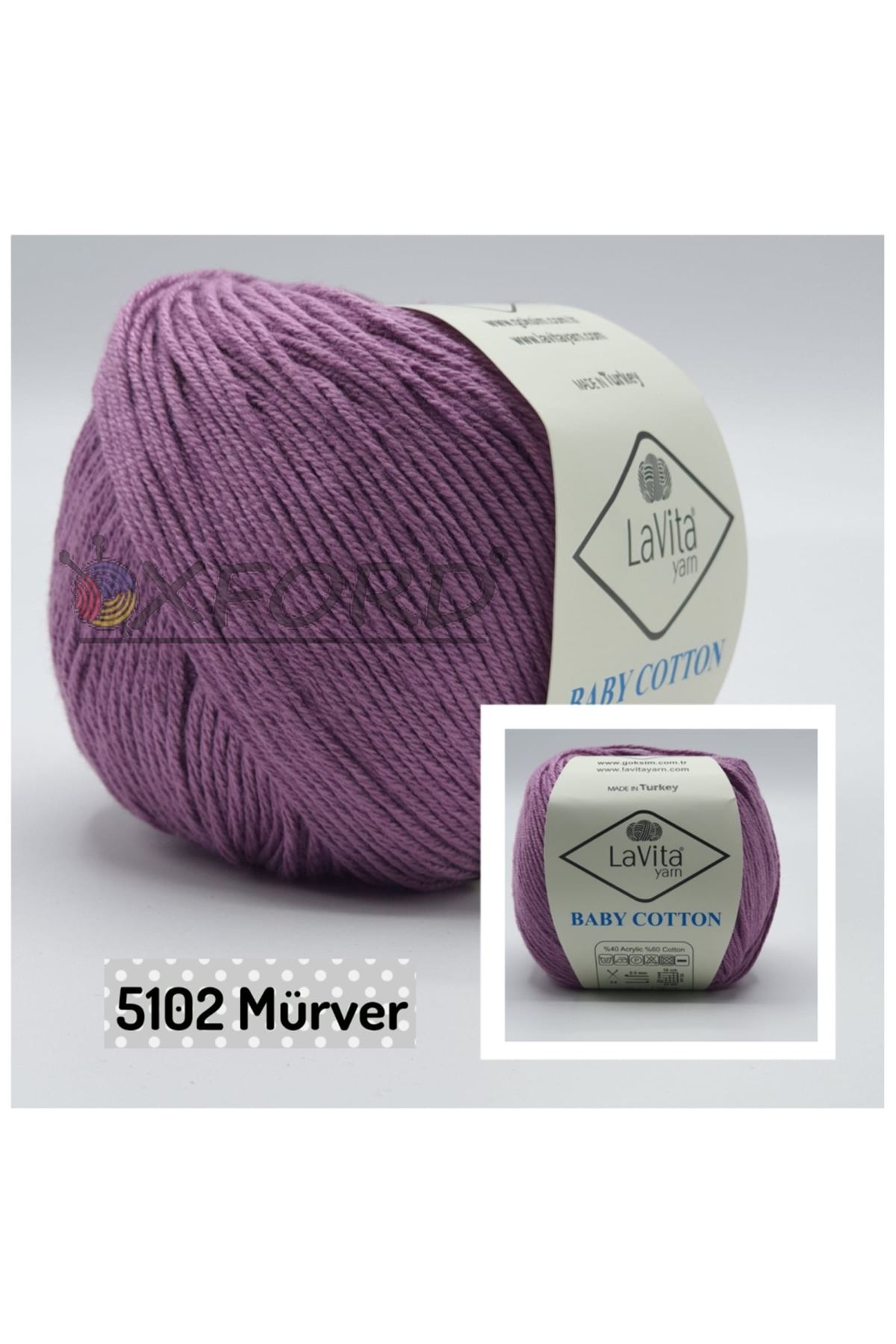 Lavita Baby Cotton 5102 Mürver