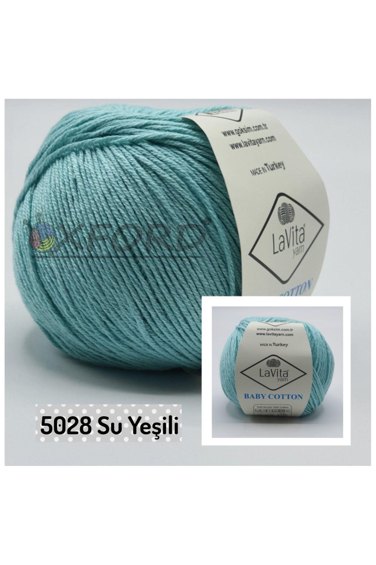 Lavita Baby Cotton 5028 Su Yeşili