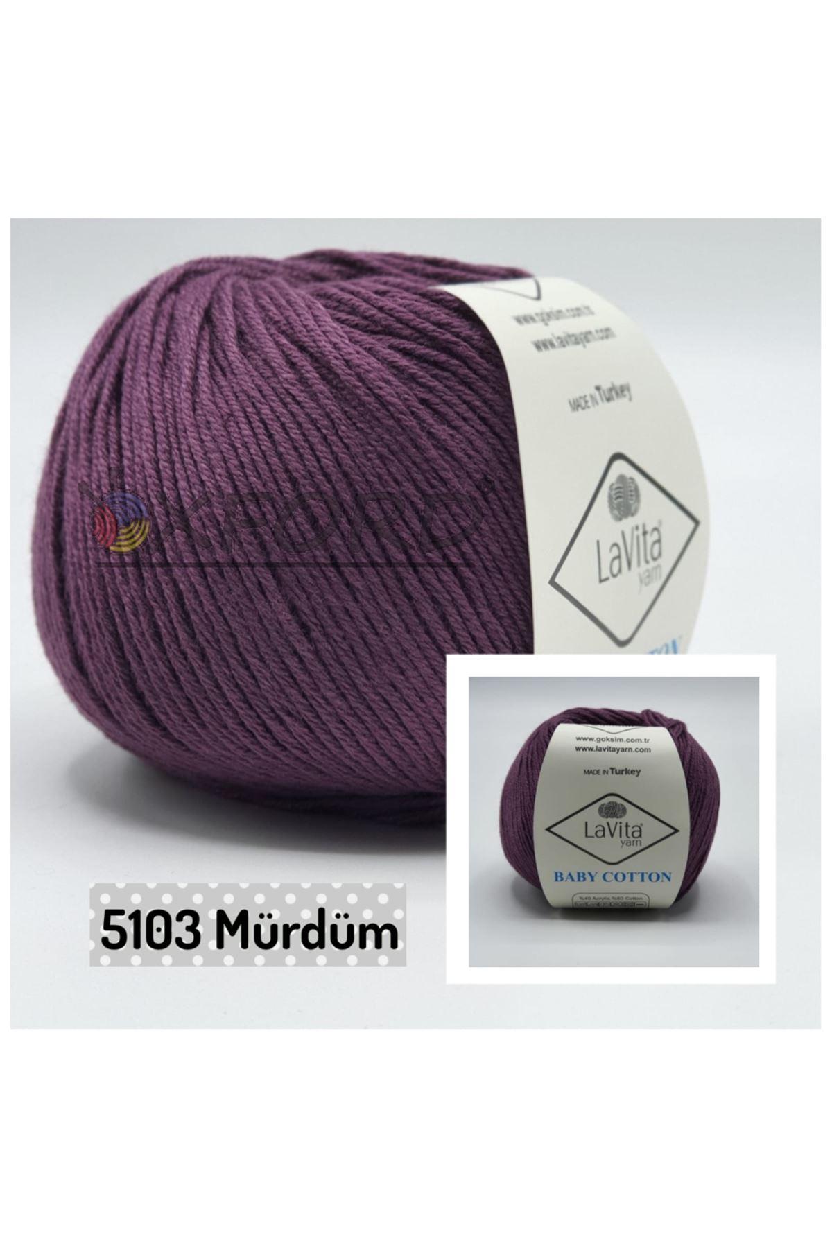 Lavita Baby Cotton 5103 Mürdüm
