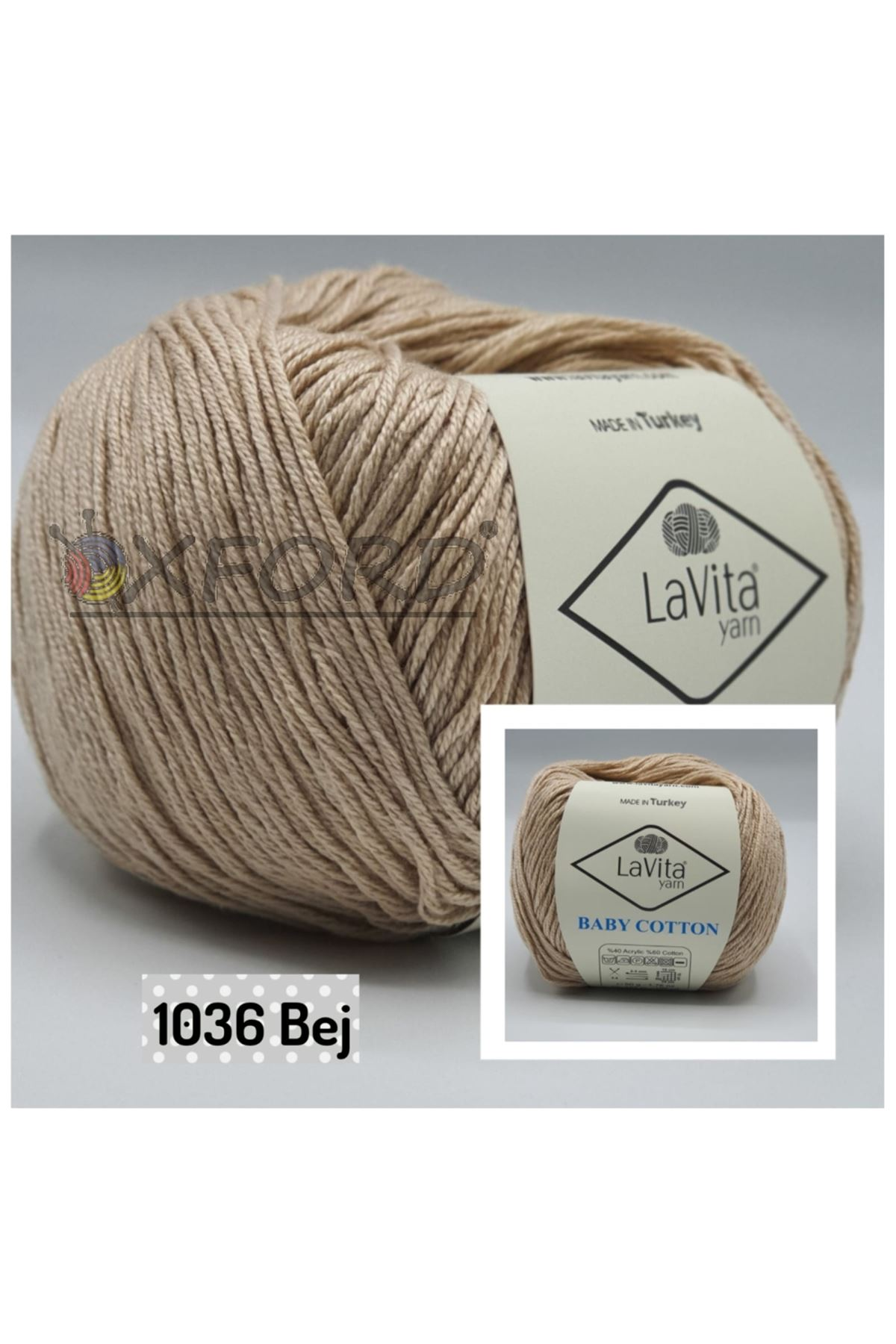 Lavita Baby Cotton 1036 Bej