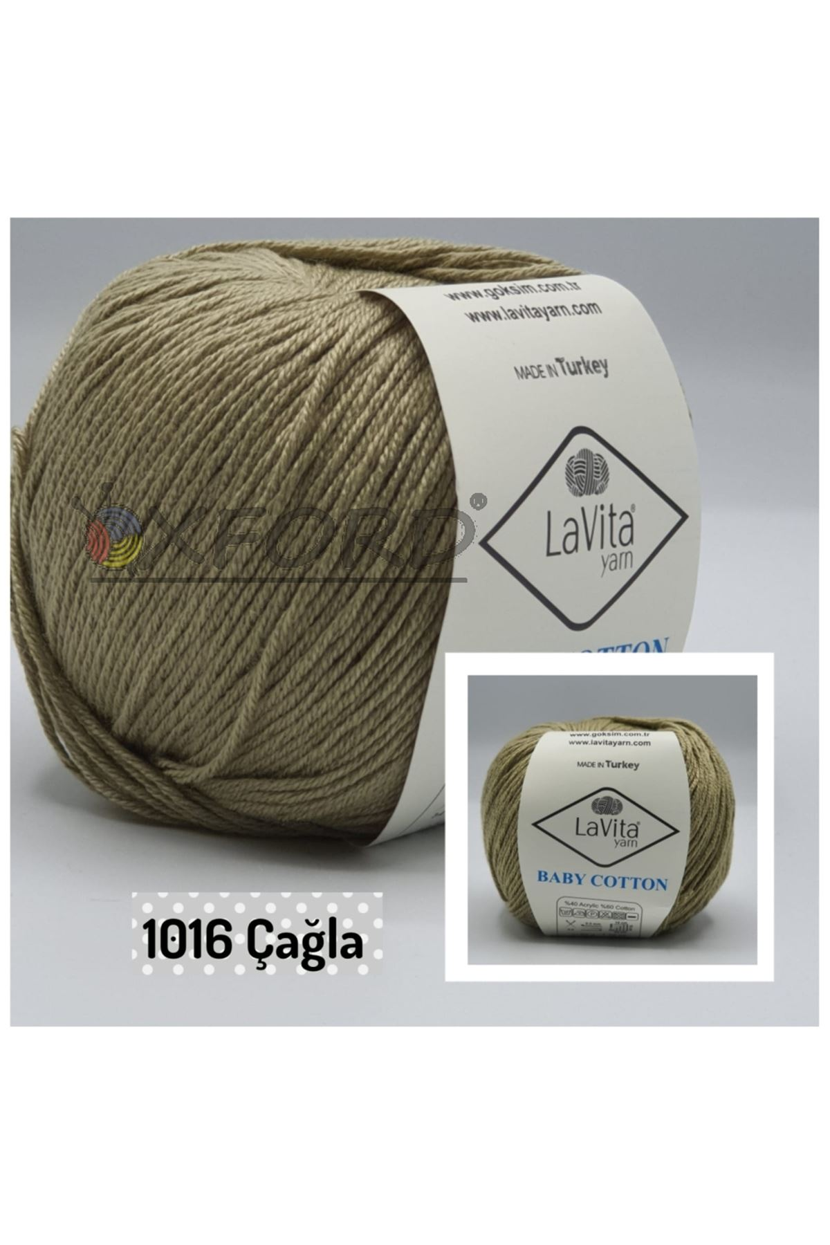 Lavita Baby Cotton 1016 Çağla