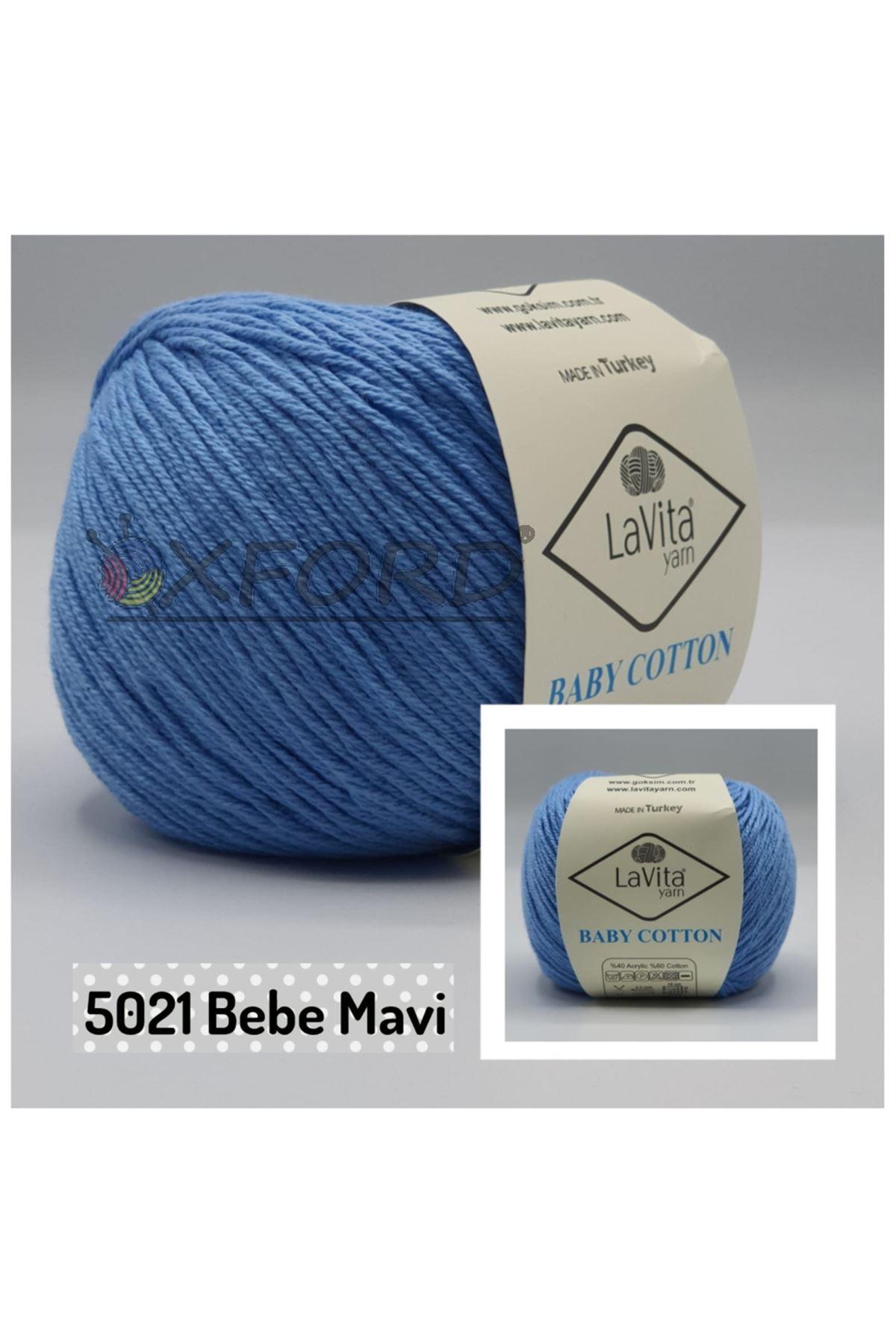 Lavita Baby Cotton 5021 Bebe Mavi