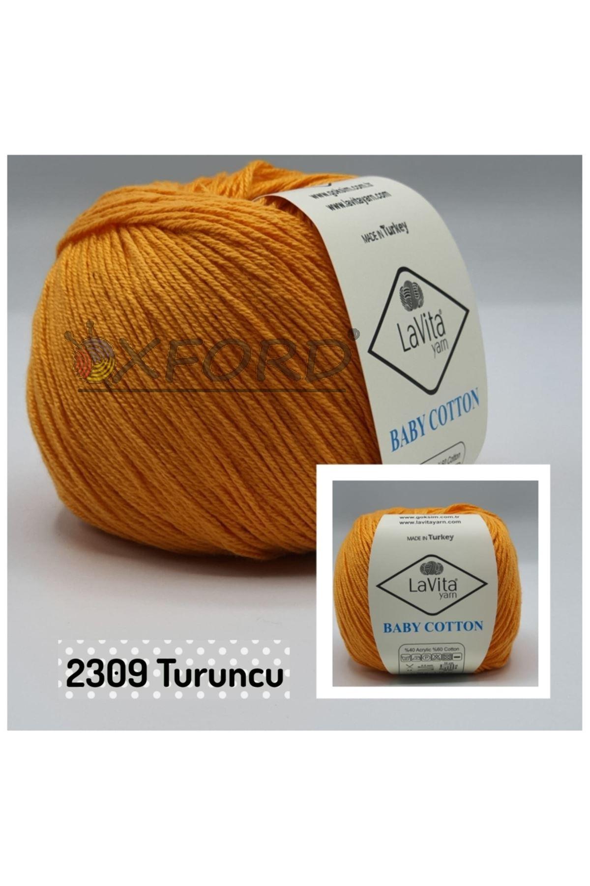 Lavita Baby Cotton 2309 Turuncu