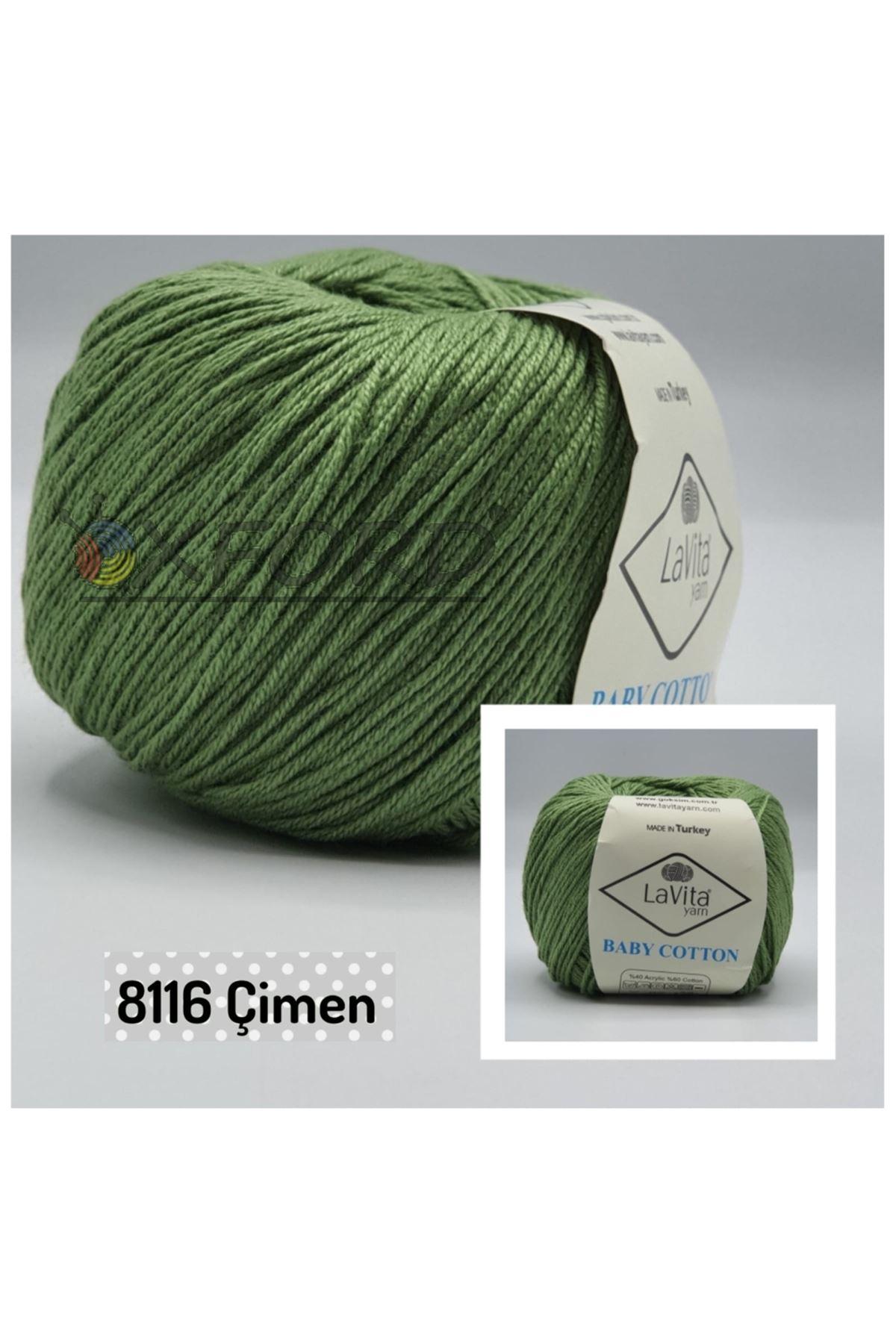Lavita Baby Cotton 8116 Çimen