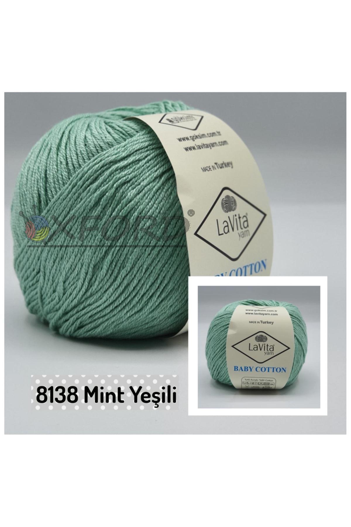 Lavita Baby Cotton 8138 Mint Yeşili
