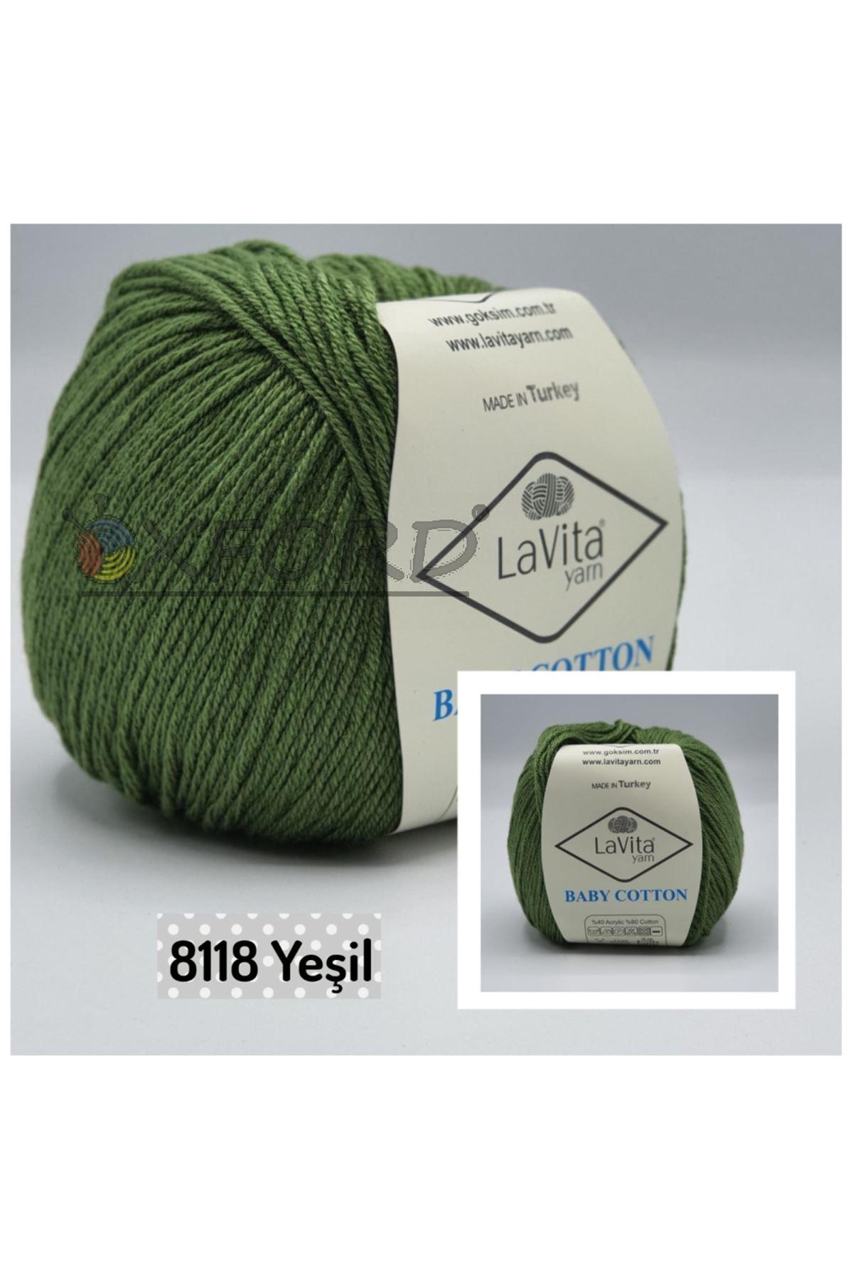 Lavita Baby Cotton 8118 Yeşil
