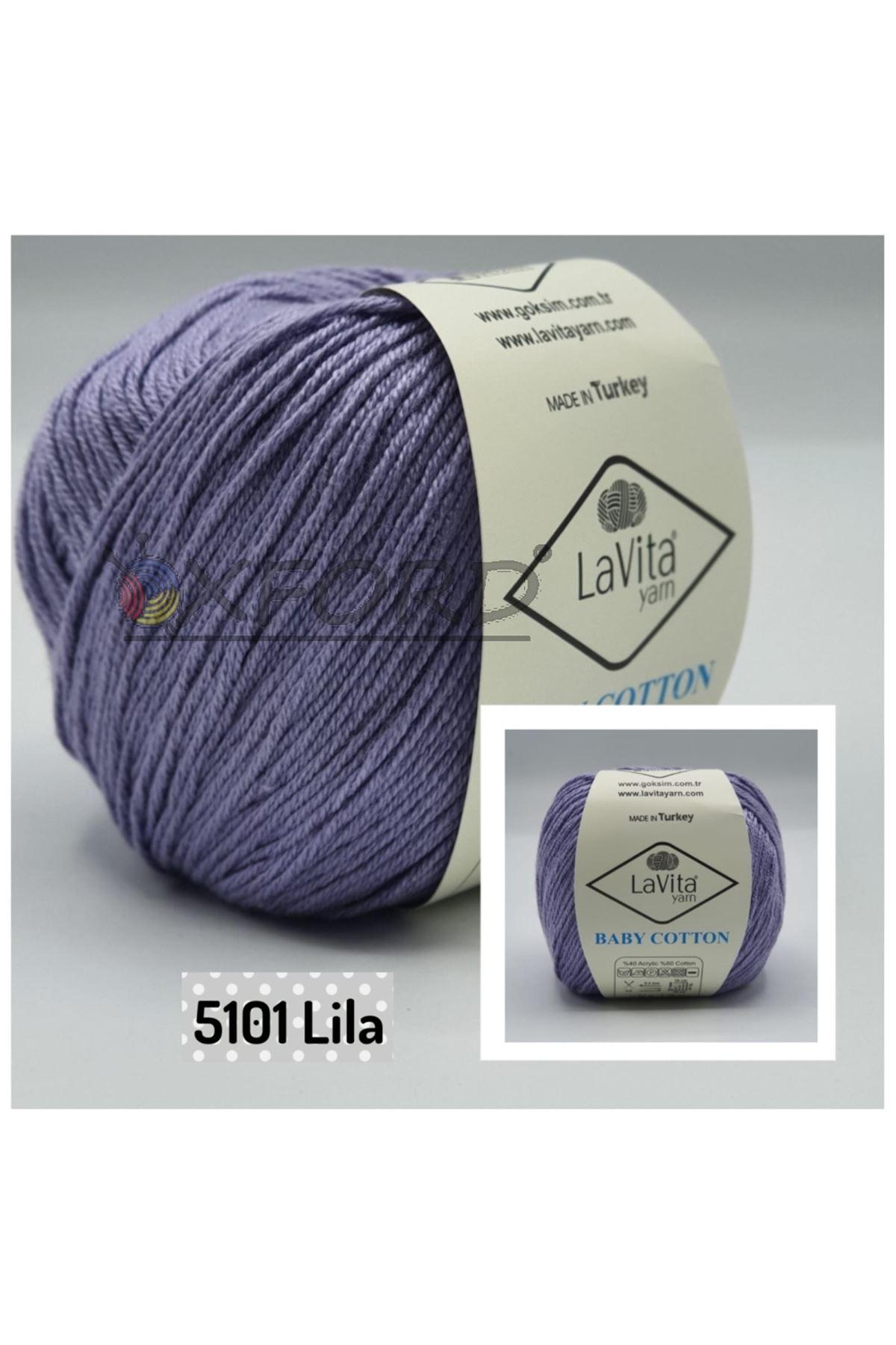 Lavita Baby Cotton 5101 Lila