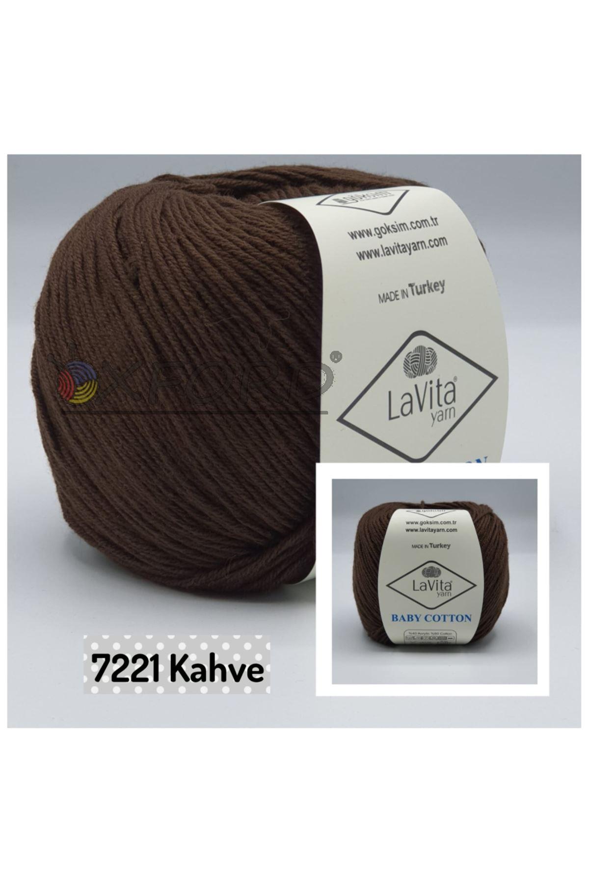 Lavita Baby Cotton 7221 Kahve