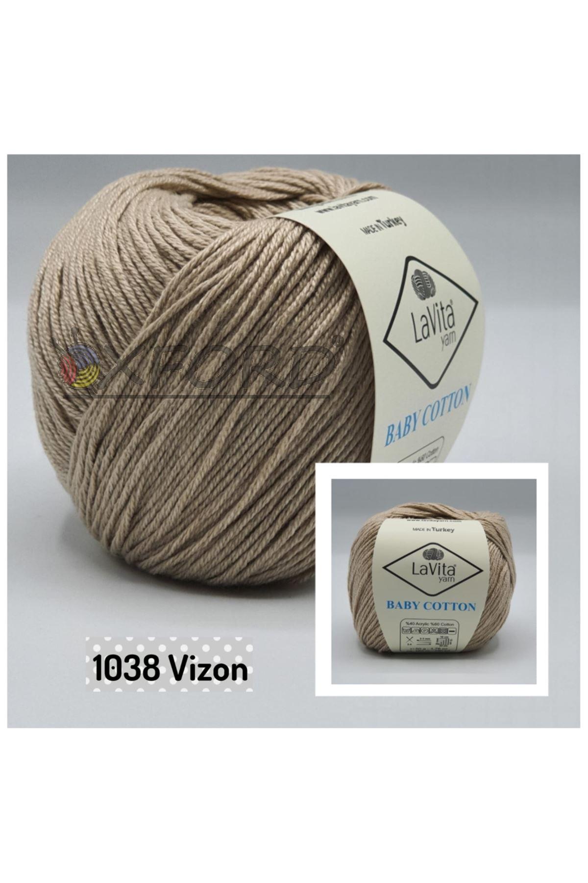 Lavita Baby Cotton 1038 Vizon