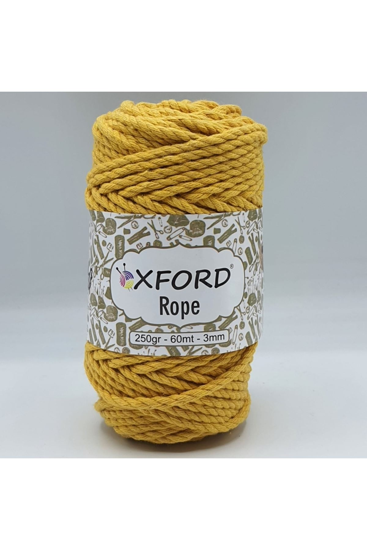 Oxford Rope 3mm 016 Sarı