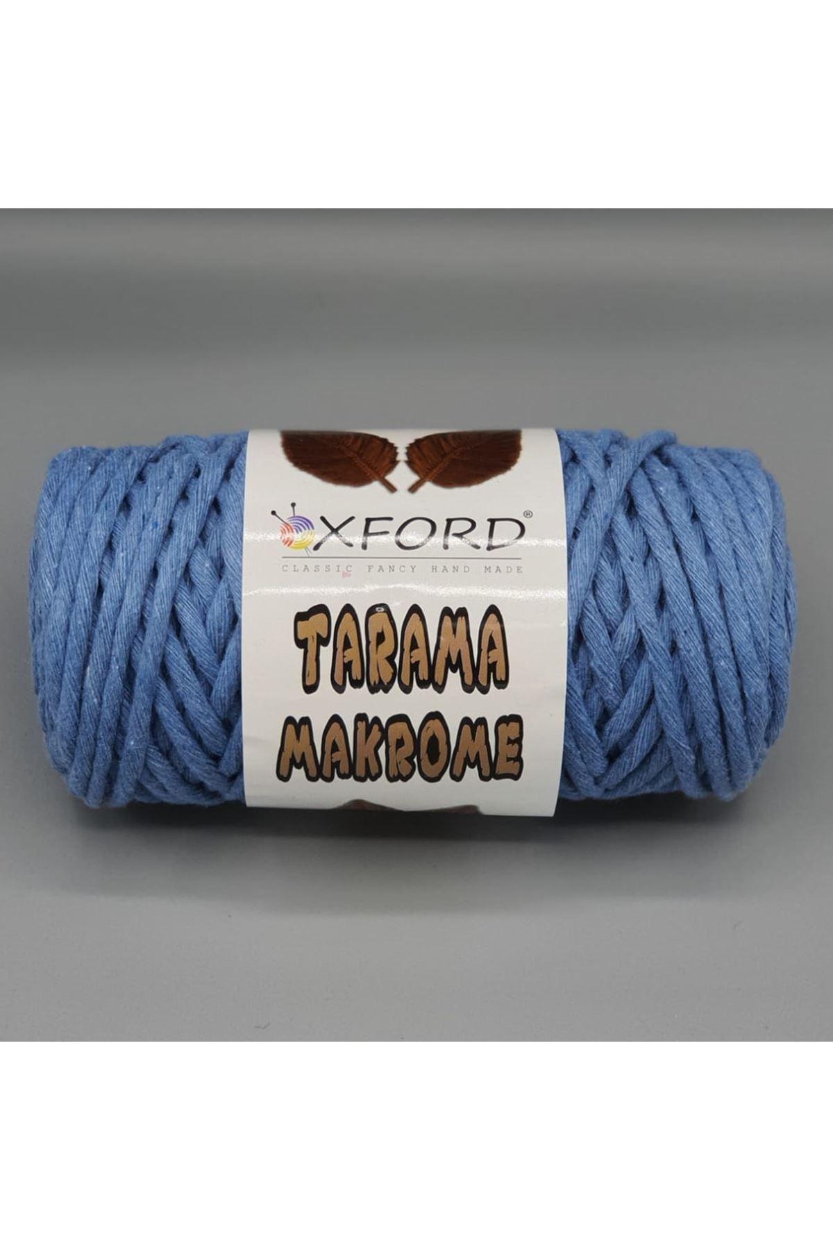 Tarama Makrome 5 mm - 063 Mavi