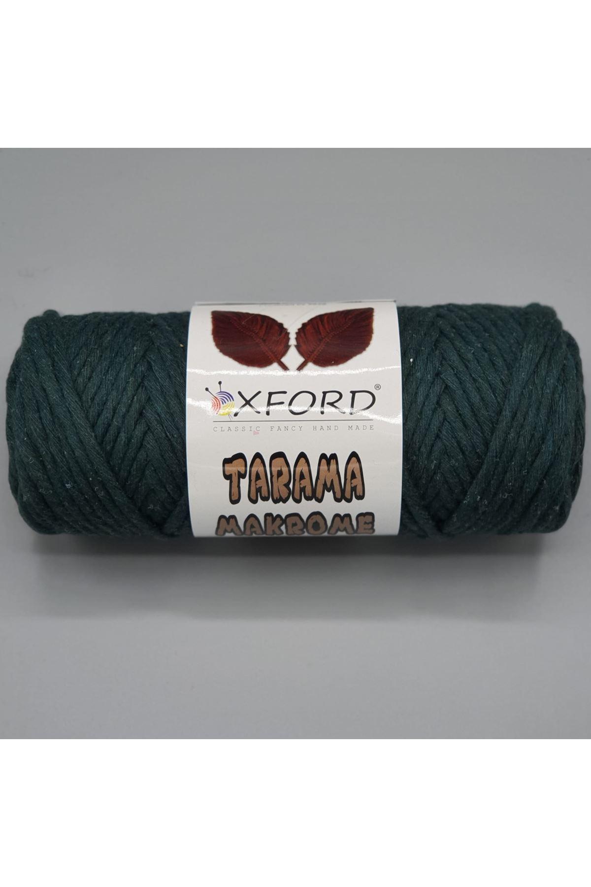 Tarama Makrome 5 mm - 051 Yeşil