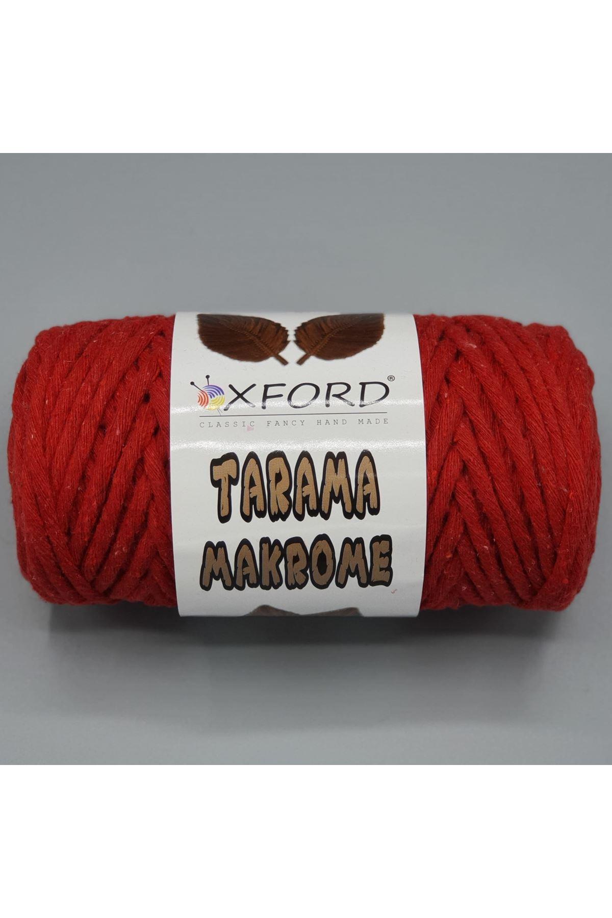 Tarama Makrome 5 mm - 070 Kırmızı