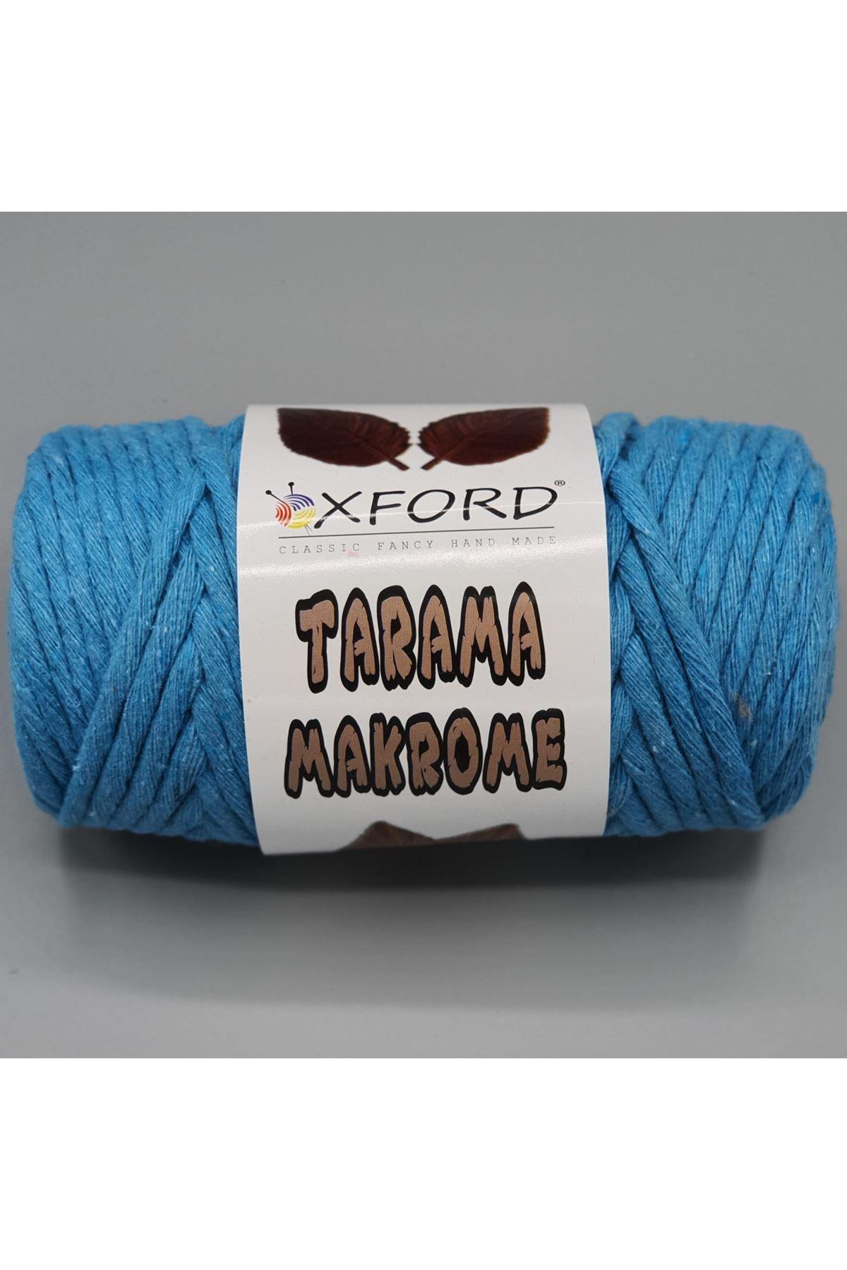 Tarama Makrome 5 mm - 077 Turkuaz Mavi