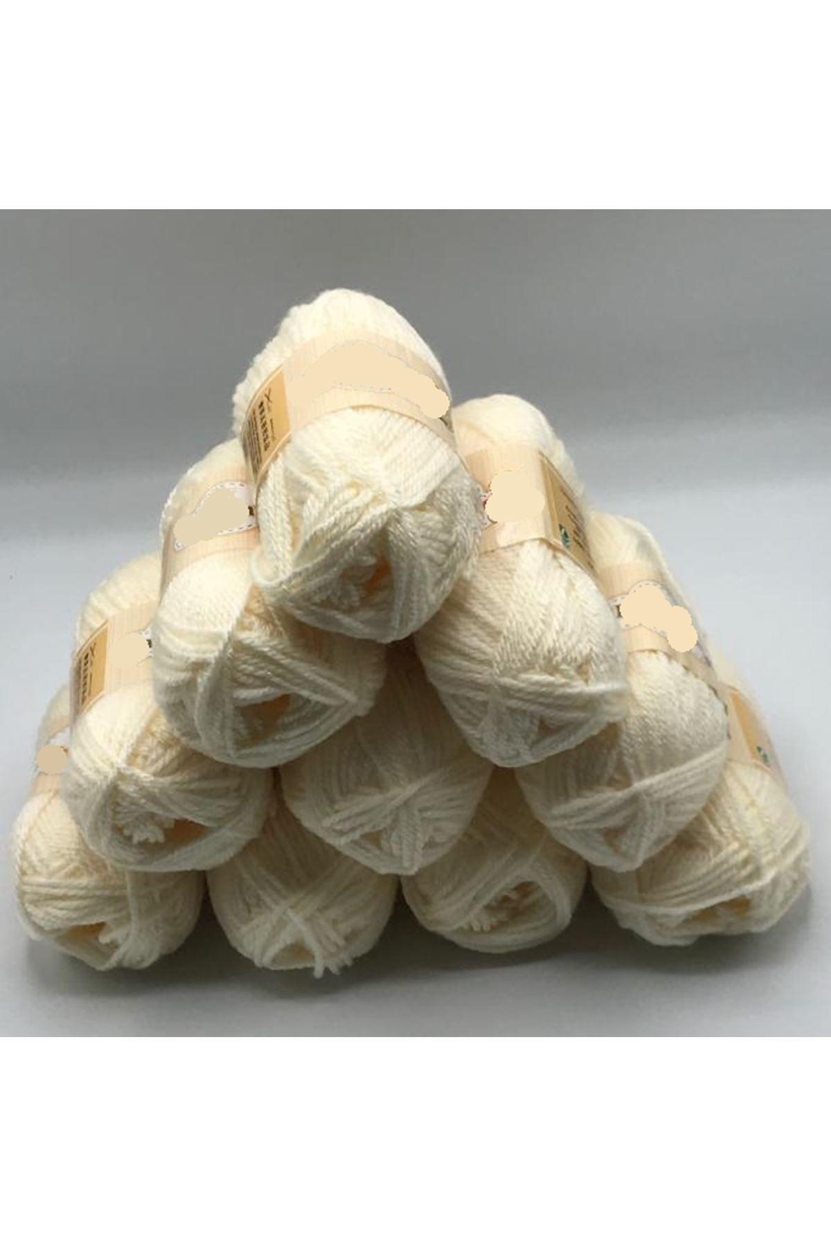 İhrac Fazlası 10'lu Paket 400 GRAM Akrilik Krem 274