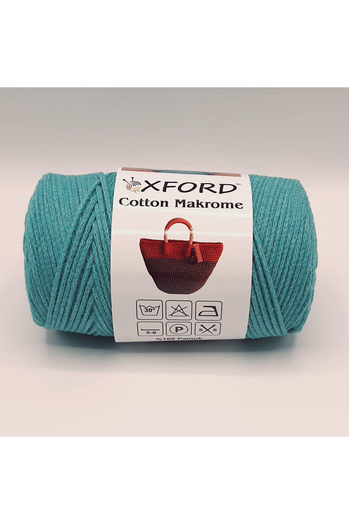 Cotton Makrome 1060 Turkuaz