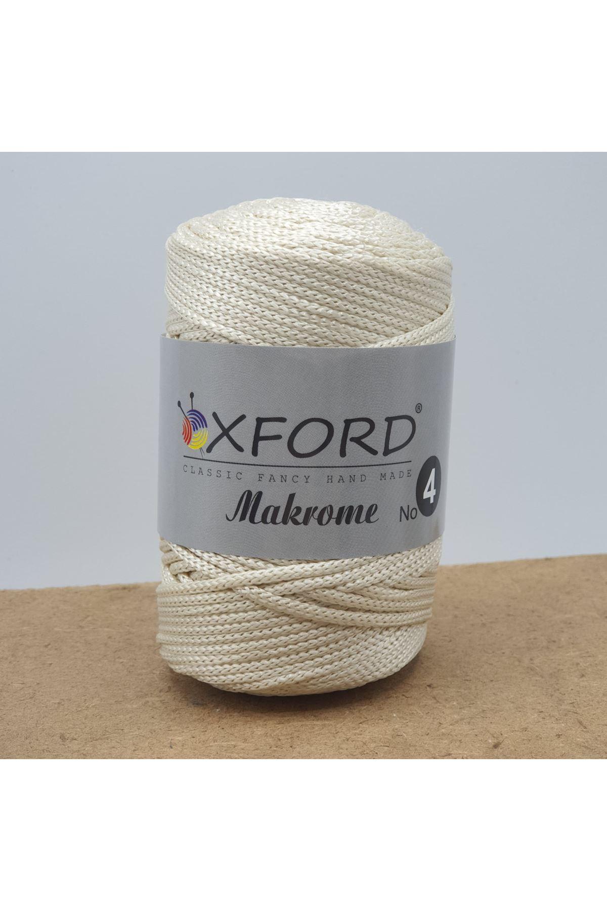 Oxford 4 No Makrome - 45 Krem