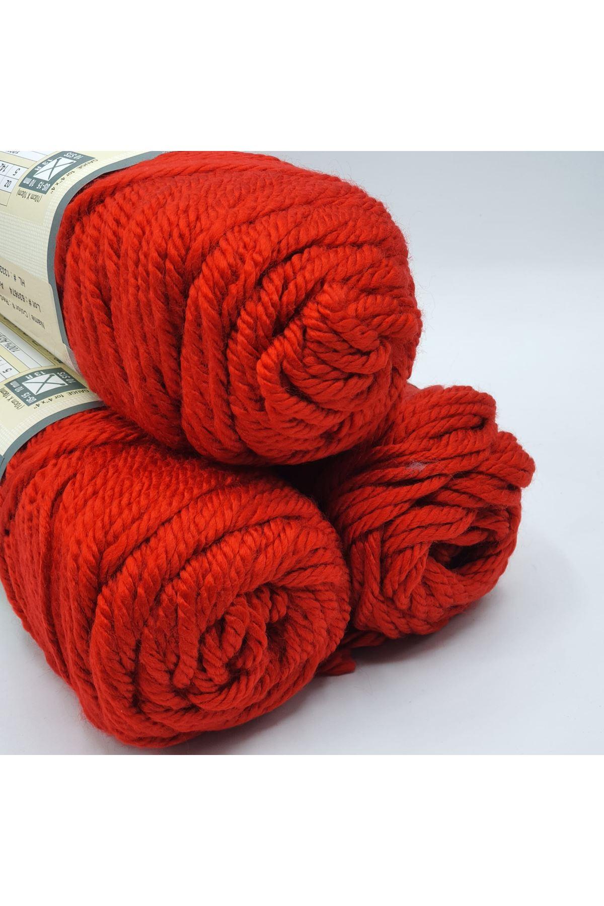 3'lü Paket 10077 Kırmızı