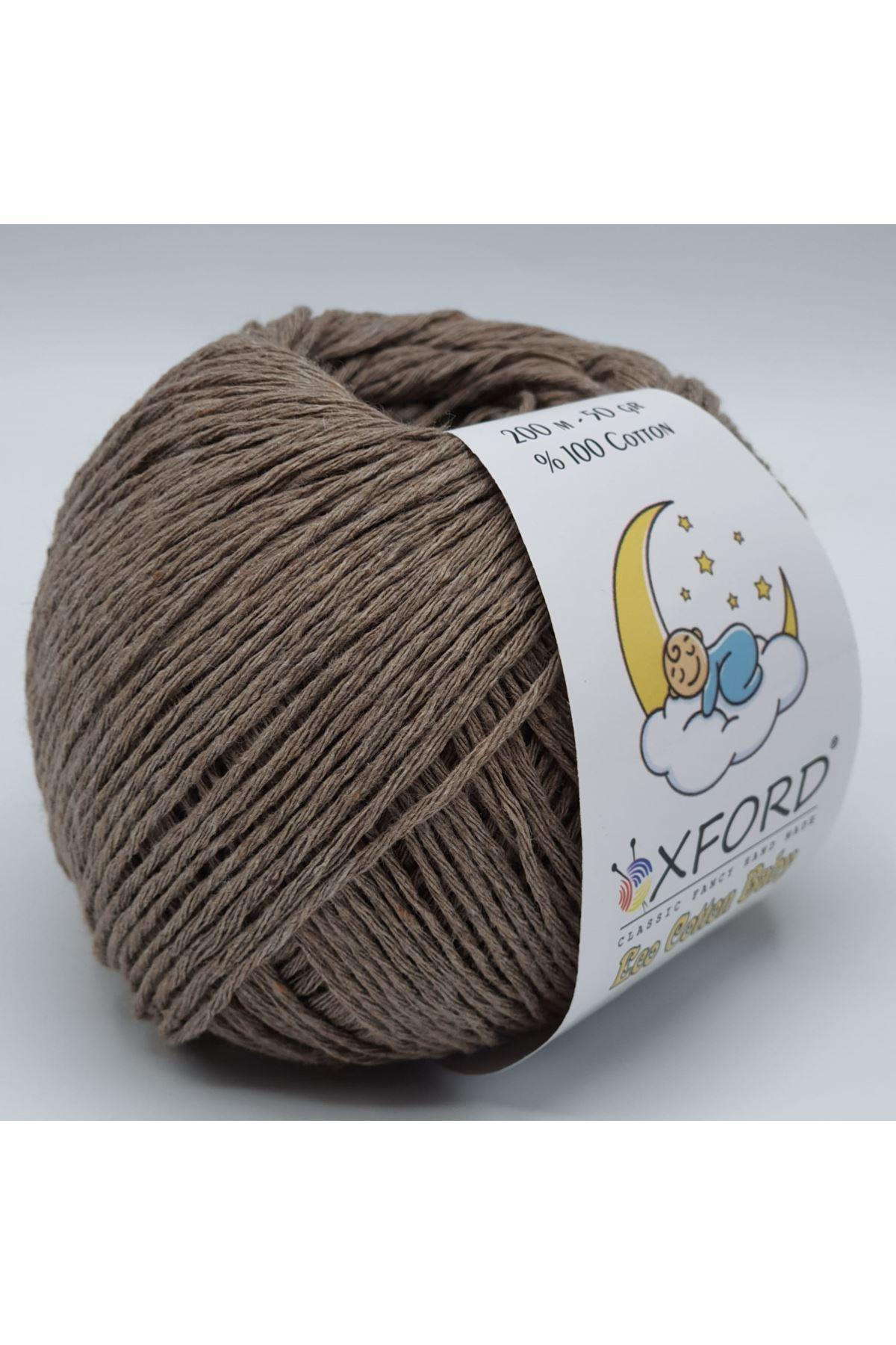 Eco Cotton Baby - 220 Koyu Bej