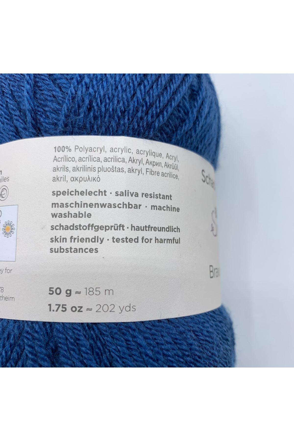 İhrac Fazlası 10'lu Paket Bebe Akrilik Mavi 344