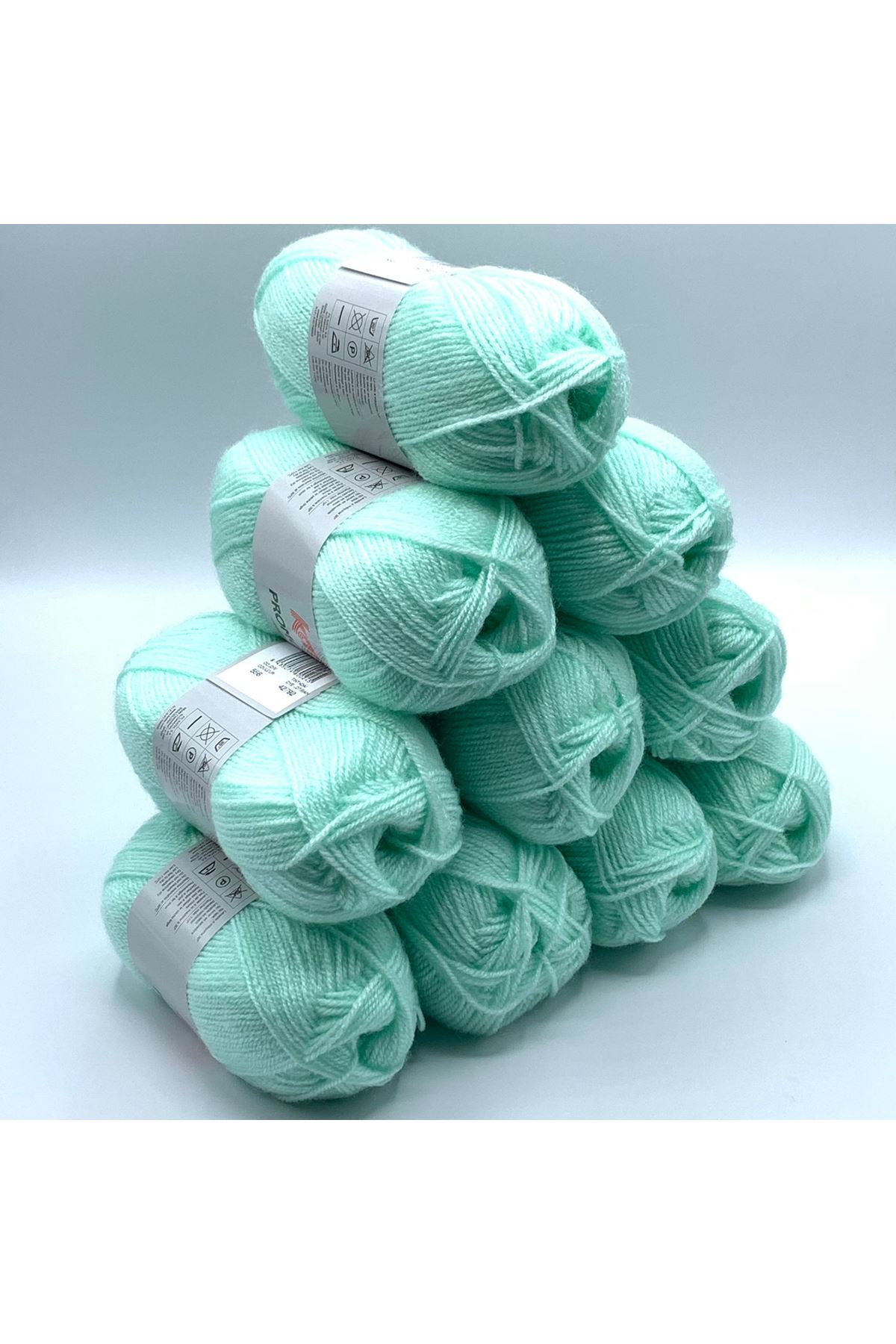 İhrac Fazlası 10'lu Paket Bebe Akrilik Yeşil 349