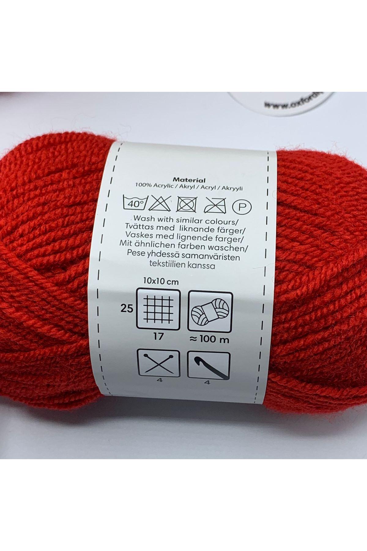 İhrac Fazlası 10'lu Paket Bebe Akrilik Kırmızı 362