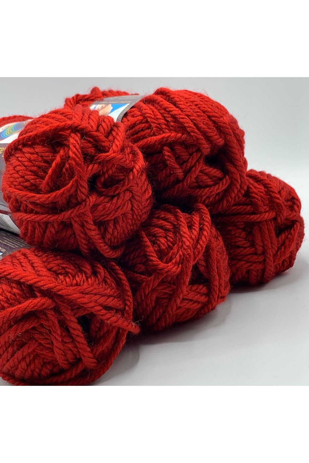 İhrac Fazlası 5'li Paket HIRKALIK Akrilik Kırmızı 354